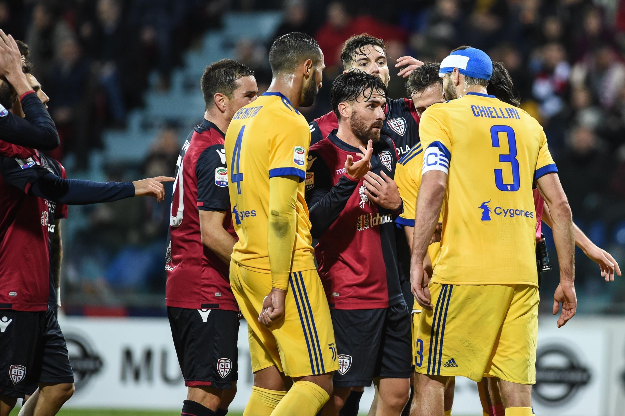 Cagliari furioso nel dopo gara faccia a faccia giulini for Idee per gara di cucina scout