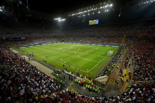 San Siro, incontro Milan-Inter-Comune