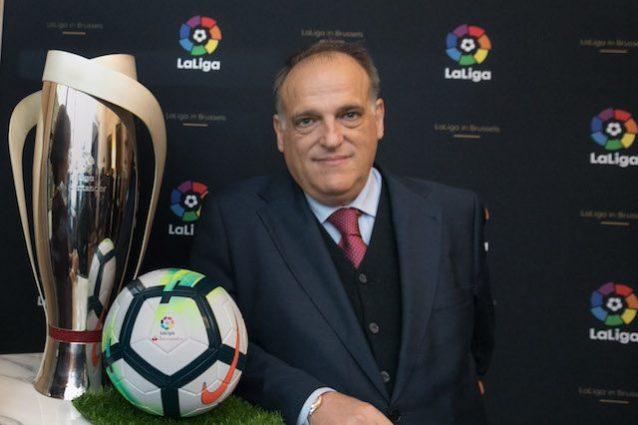 La Liga blinda Tebas, l'Italia si allontana