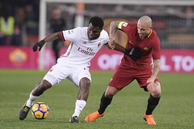Kessié all'attacco: 'La squadra è con Gattuso. Con Montella si lavora poco'
