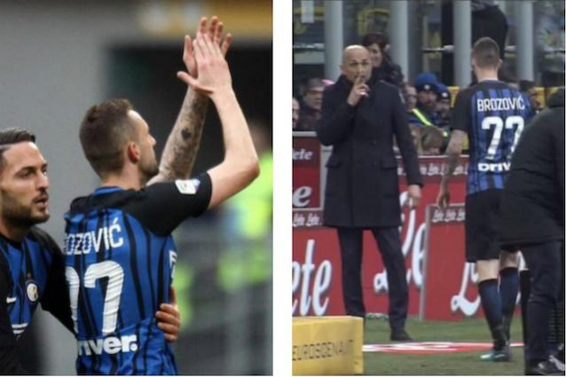 Inter-Bologna, stoccata di Spalletti a Brozovic