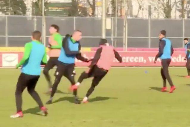Allenamento calcio PSV Donna