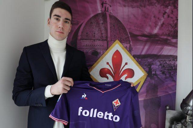 Fiorentina, ecco Vlahovic: