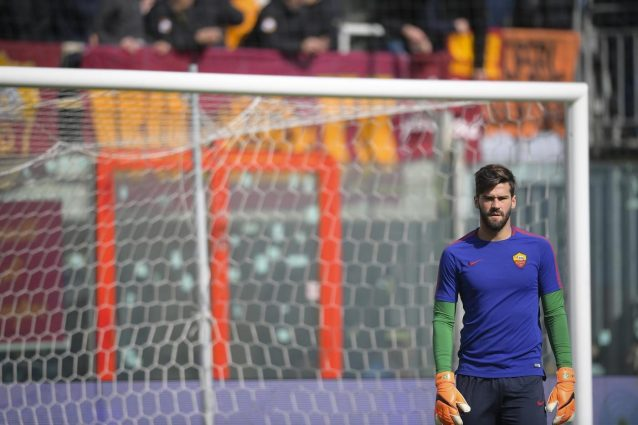 Roma, c'è anche l'Atletico Madrid su Alisson