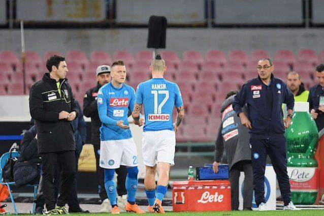 Infortunio Marek Hamsik: le condizioni fisiche del capitano