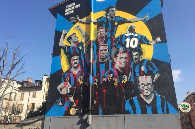Interwall vandalizzato in 48 ore: ecco perché non ci occupiamo di calcio