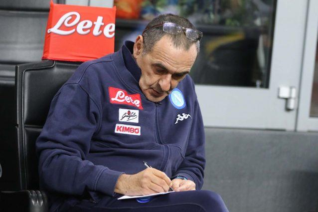 Sarri ai giocatori del Napoli: