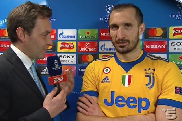 Juventus, parla Chiellini :