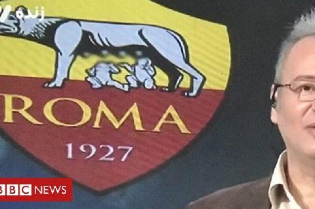 Tv iraniana censura le mammelle della lupa capitolina del logo Roma