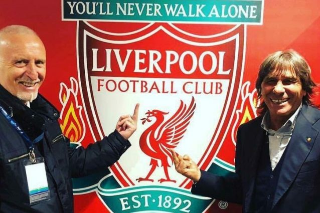 Liverpool-Roma, la foto di Conti e Pruzzo: le polemiche