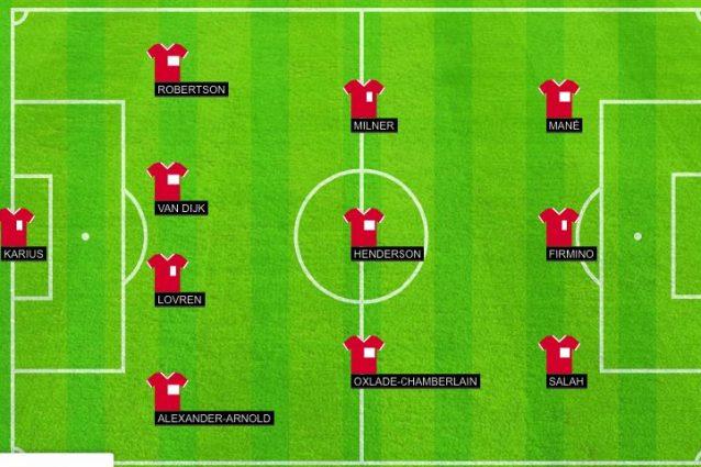 La formazione del Liverpool. (da homecrowd.io)