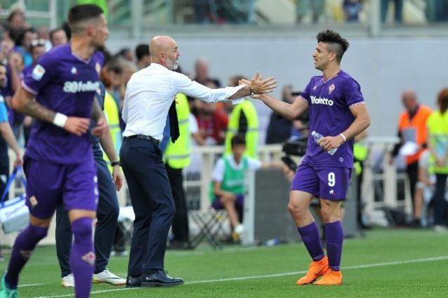 Seconda Maglia Fiorentina GIOVANNI SIMEONE