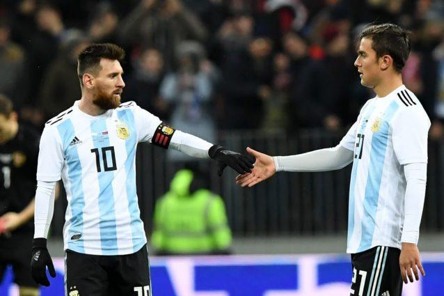Dybala fa una promessa a Messi: