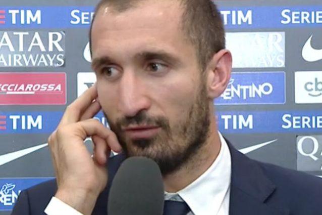 Juve campione d'Italia, Chiellini: