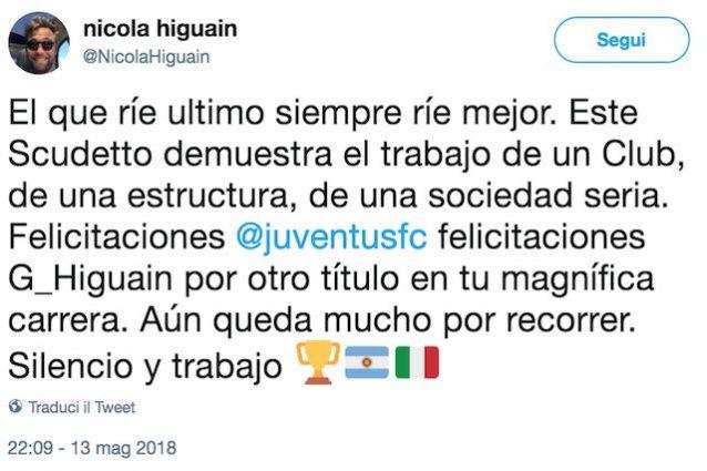 Nicola Higuain: