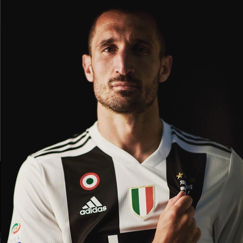 Seconda Maglia Juventus GIORGIO CHIELLINI