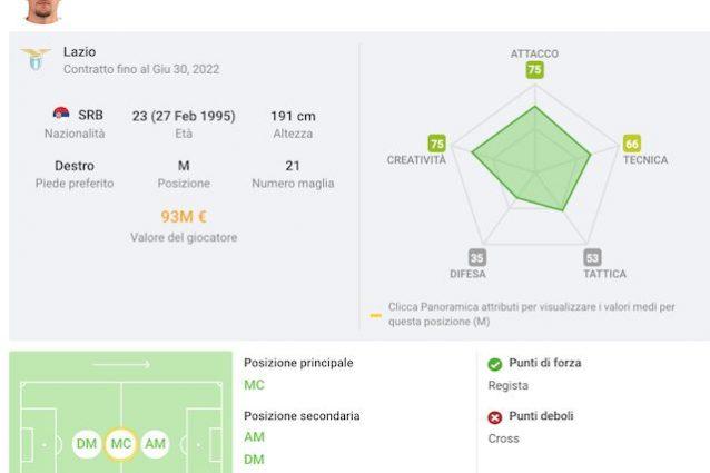 Calciomercato, Milinkovic: