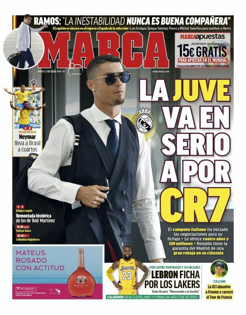 La stampa spagnola