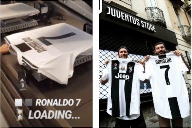 Juventus, Cuadrado accoglie Cristiano Ronaldo e gli lascia la numero 7