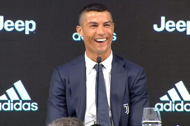 Juventus: debutto con gol per Cristiano Ronaldo a Villar Perosa
