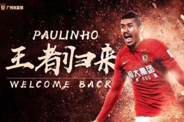 Barcellona, Paulinho torna al Guangzhou: guadagnerà 14 milioni