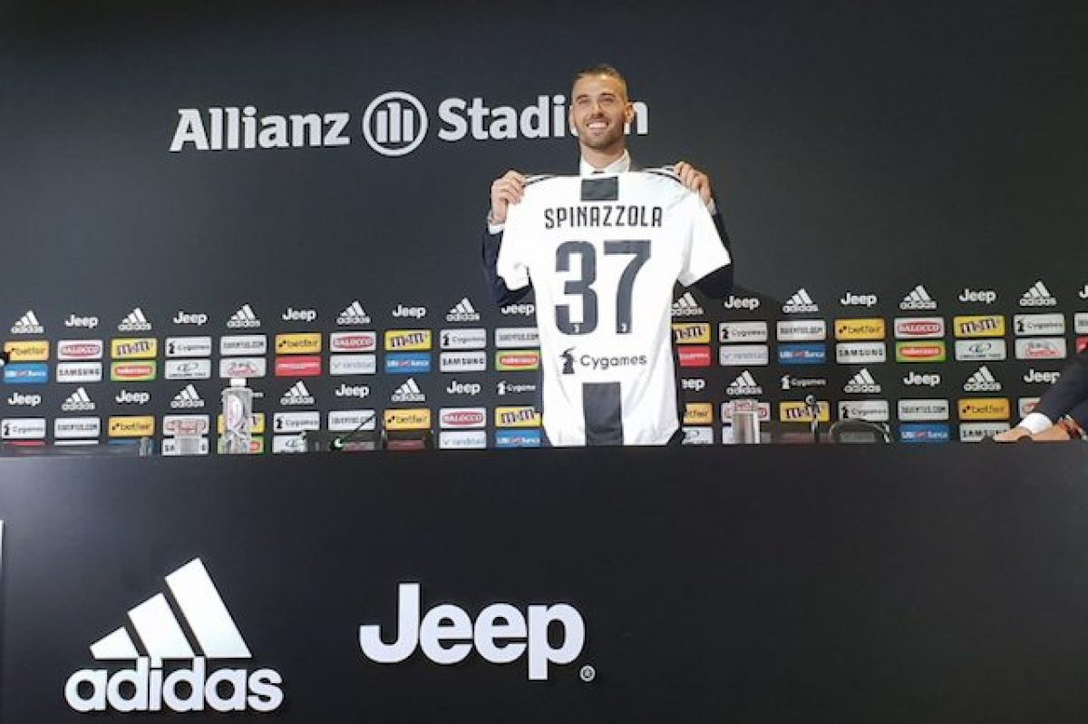 Juventus, Spinazzola: La maglia numero 7 a Ronaldo? Gliel'ho lasciata…