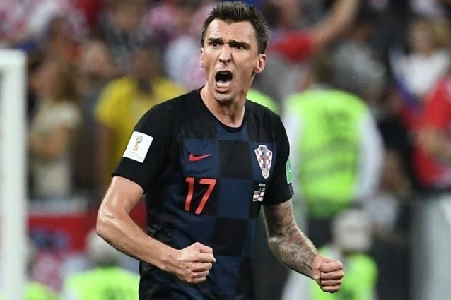 Inter-Modric, Mandzukic dice no. Con un post social