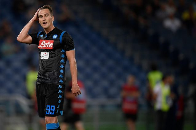 """LAZIO-NAPOLI Milik:""""Felice per la vittoria, la Lazio…"""""""
