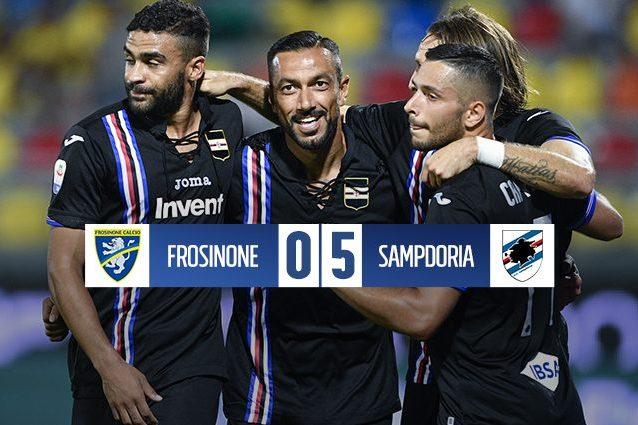 Frosinone-Sampdoria, le formazioni ufficiali: Ciano e Defrel dal 1'