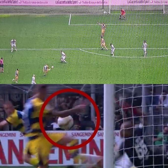 I due episodi da moviola incriminati in Inter–Parma, in entrambi i casi il protagonista è Dimarco