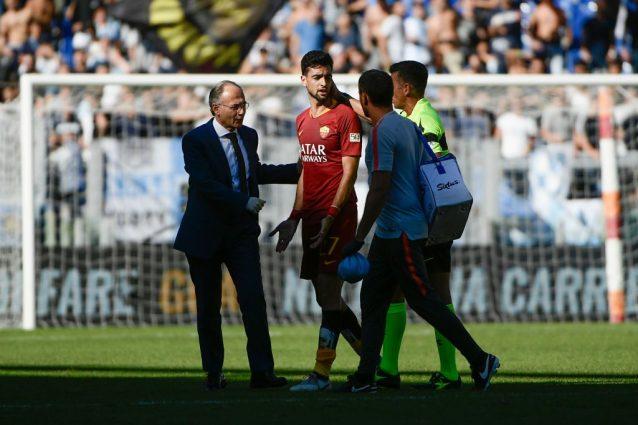 Roma infortunio pastore le condizioni dopo il ko nel derby for Alberto pastore