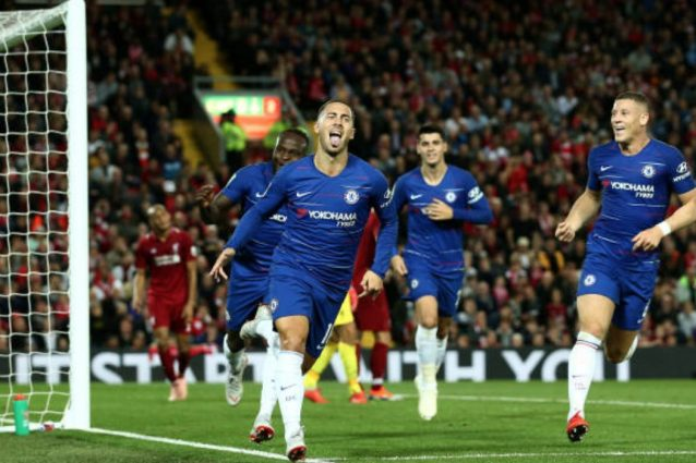 Premier, Chelsea-Liverpool; Sarri si gode Hazard: