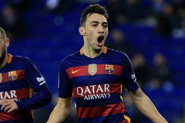 Seconda Maglia FC Barcelona Munir