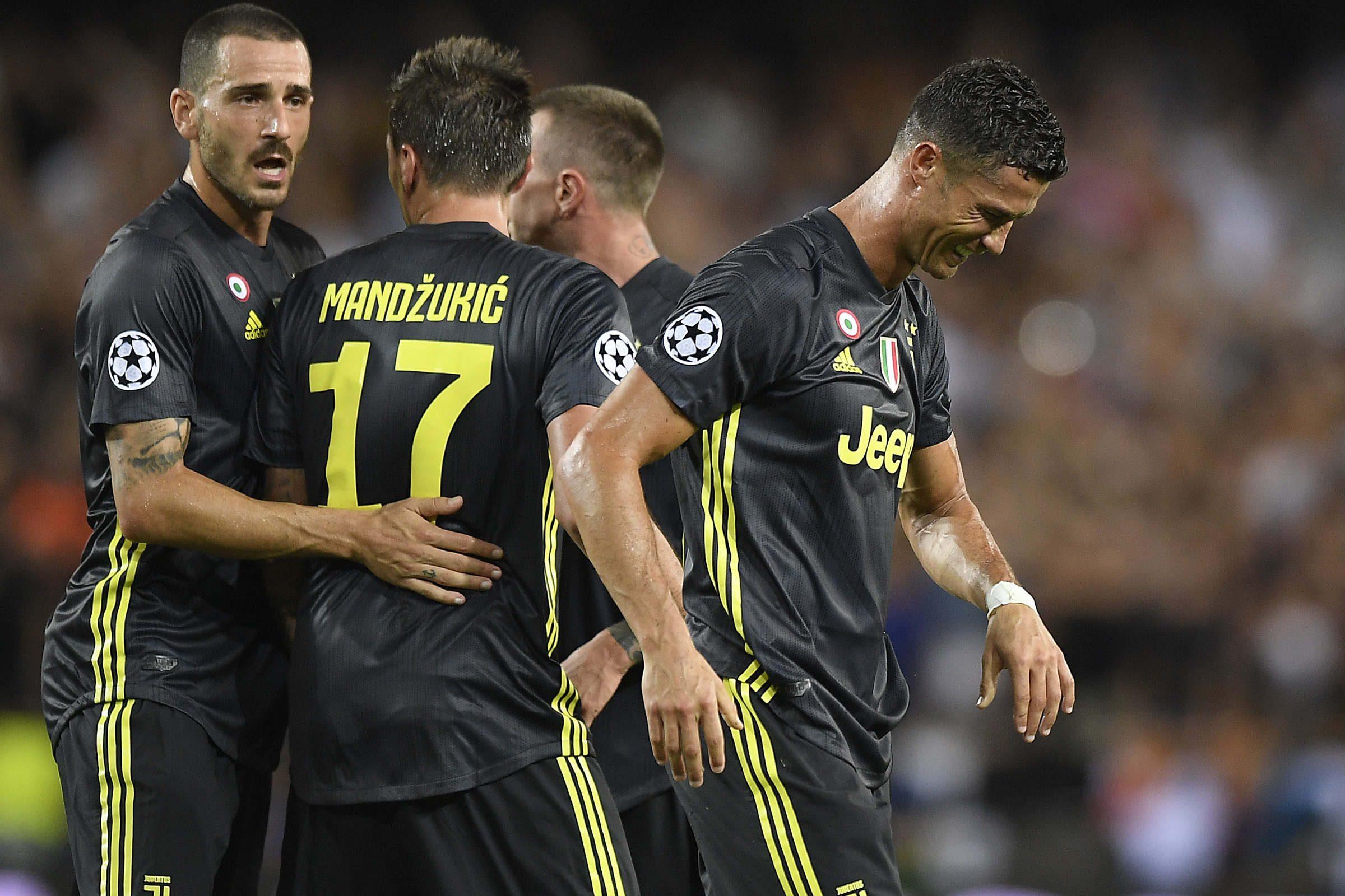 Ronaldo espulso, Nedved scatenato: