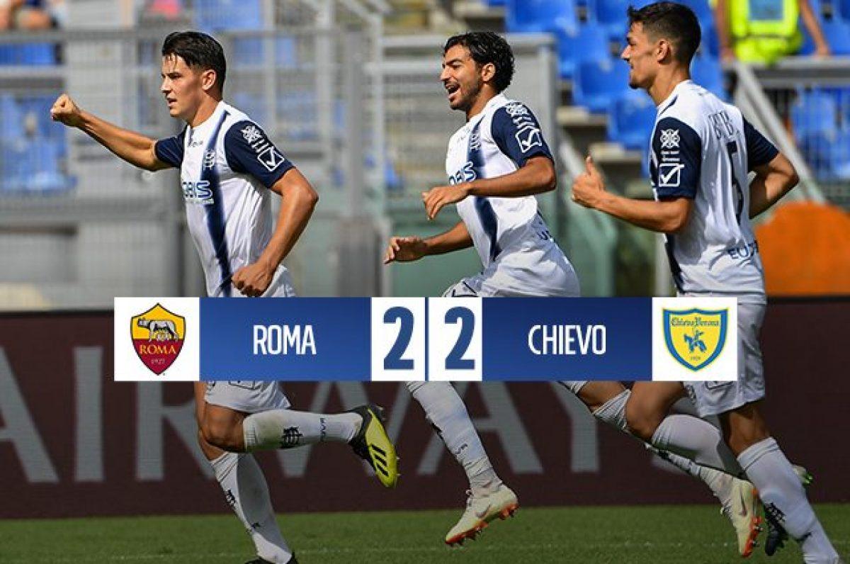 ca187f7644 Roma-Chievo, risultato e pagelle commentate del match della 4a giornata di  Serie A