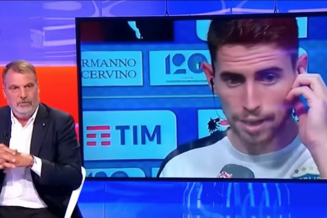 Italia-Polonia, lite Tardelli-Jorginho in diretta: