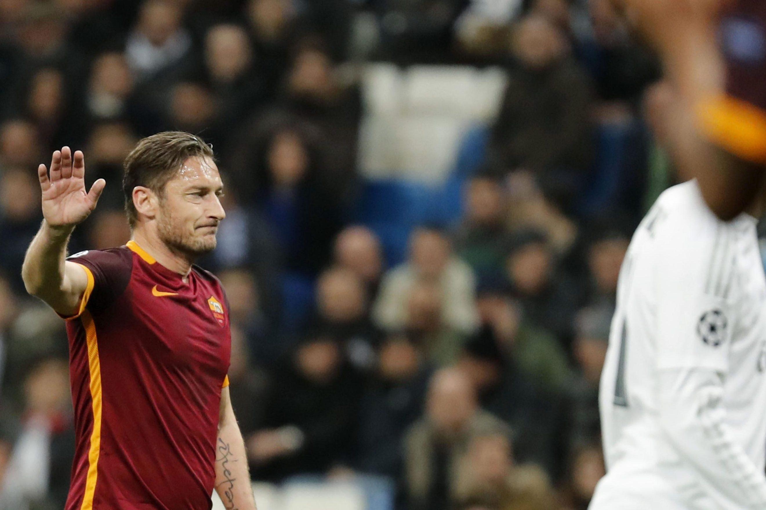 Champions, quando il Bernabeu tributò la standing ovation a Francesco Totti