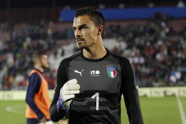 Allenamento calcio Sampdoria portiere