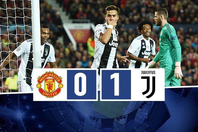 Champions league manchester united juventus finisce 0 1 - Quanto e larga una porta da calcio ...