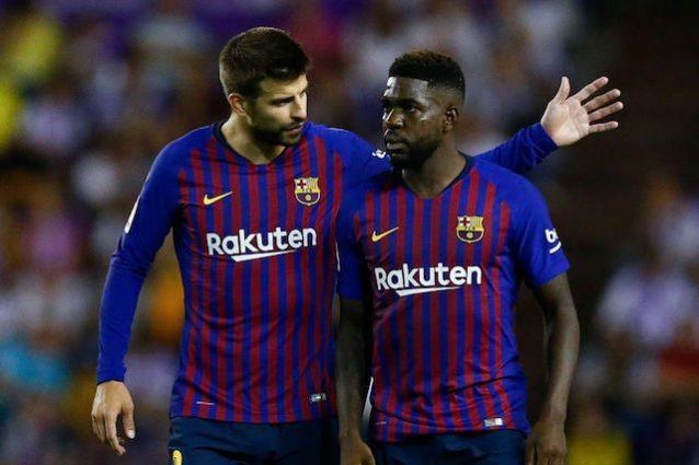 Seconda Maglia FC Barcelona Umtiti