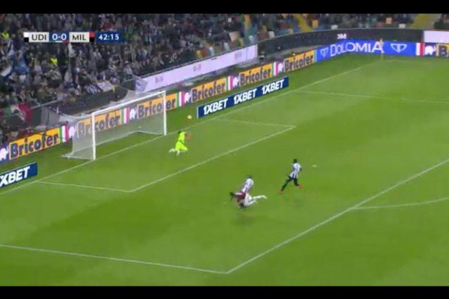 Udinese-Milan 0-1: Romagnoli al 96′ salva ancora il Diavolo