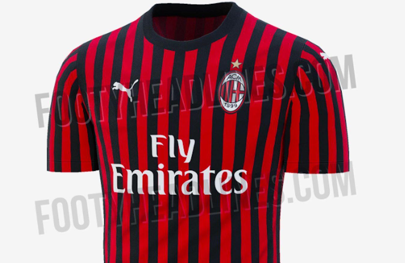 Milan, la maglia per la stagione 2019/2020: la novità sono le ...