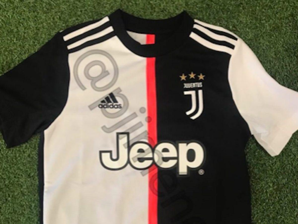 bbbf3b45e Juventus, confermata la prima maglia 2019/2020: via le storiche righe  bianconere