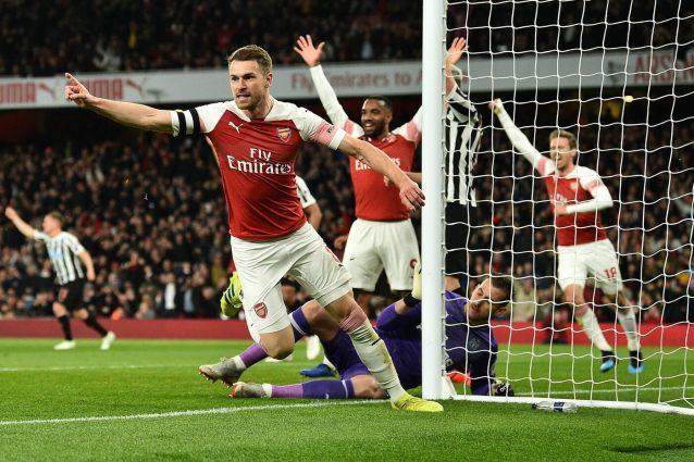 Arsenal, infortunio per Ramsey: può saltare il Napoli