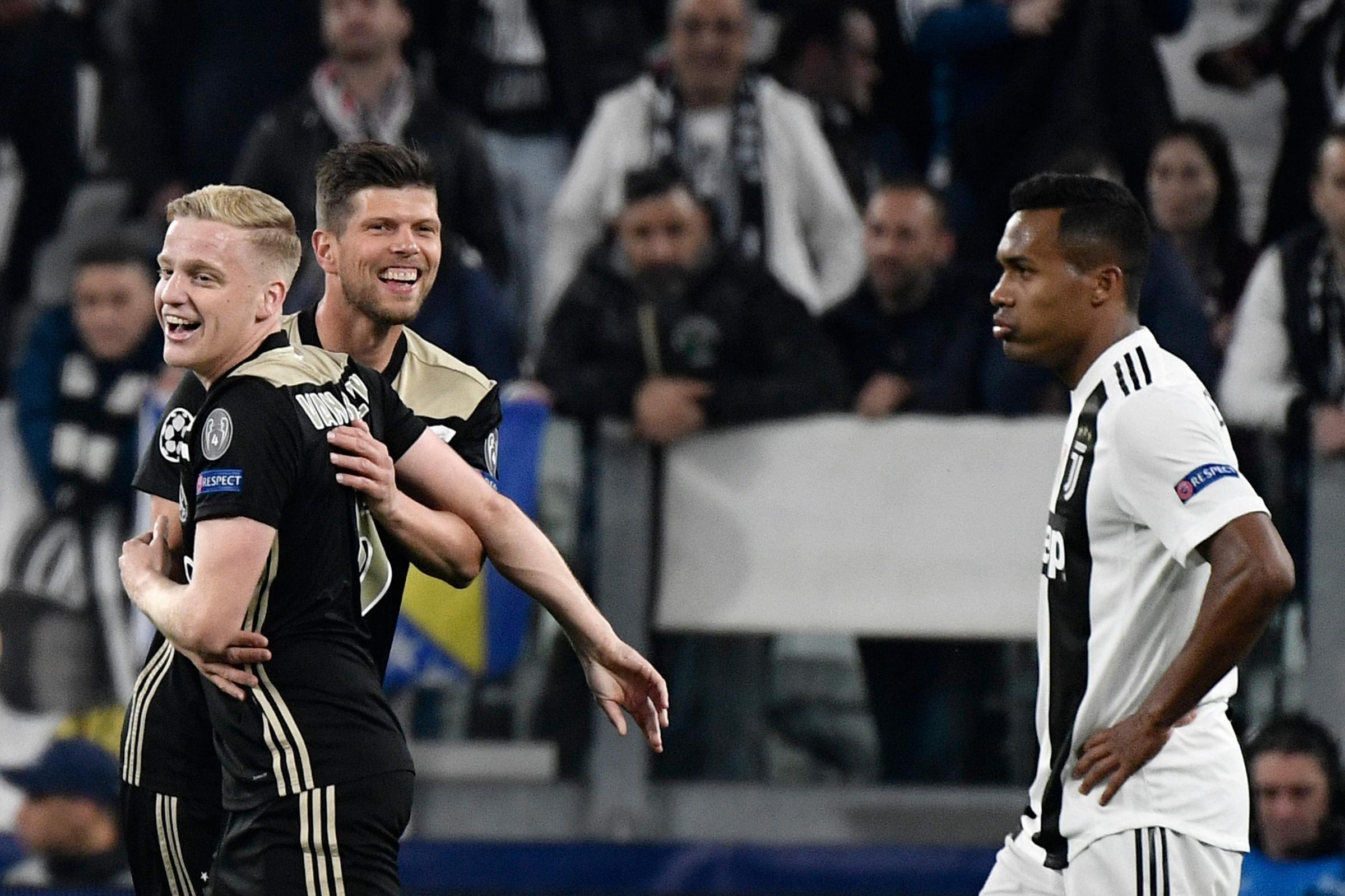 edd184cb4f Avvio Già La Juve Crolla Anche. Posted on 2019-05-18 by Noemi Fiore. La  sconfitta della Juventus contro l'Aiax in Champions League travolge i  bianconeri ...