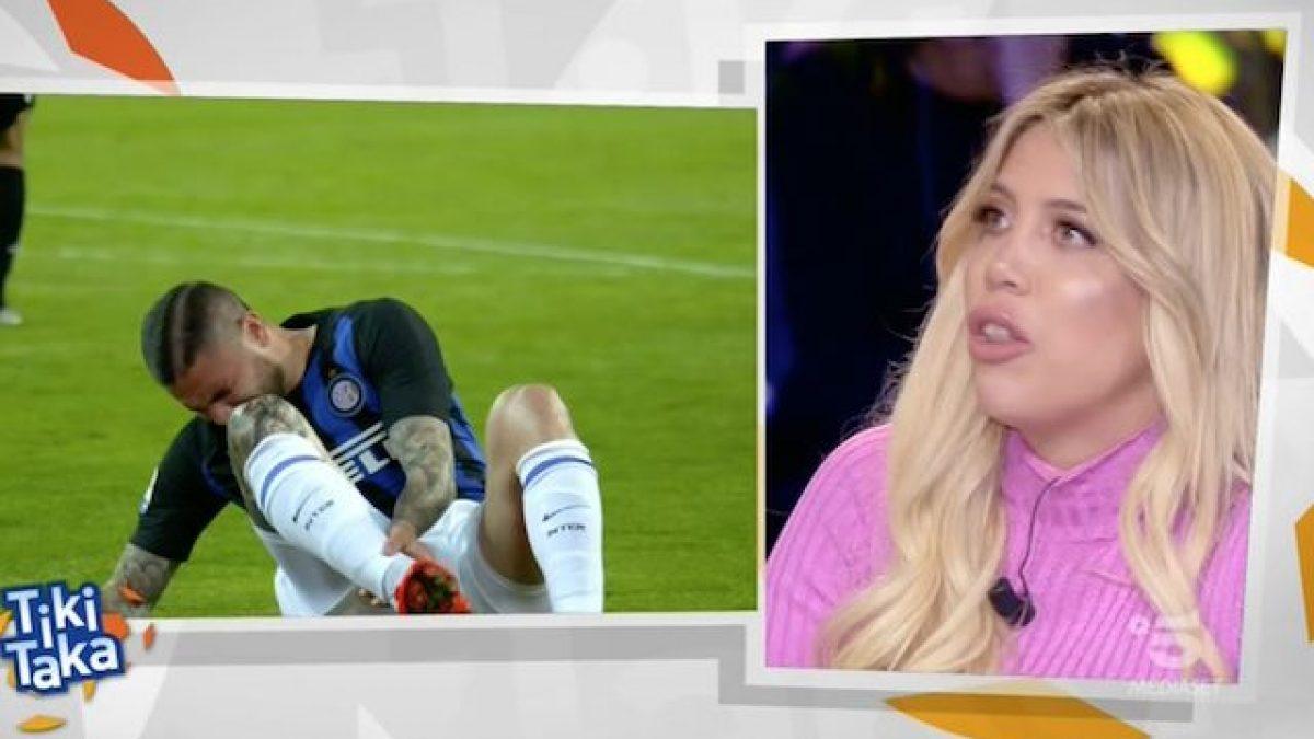 cc455ef807 Wanda Nara: Icardi resta all'Inter. Ma alla Juve può giocare con Ronaldo