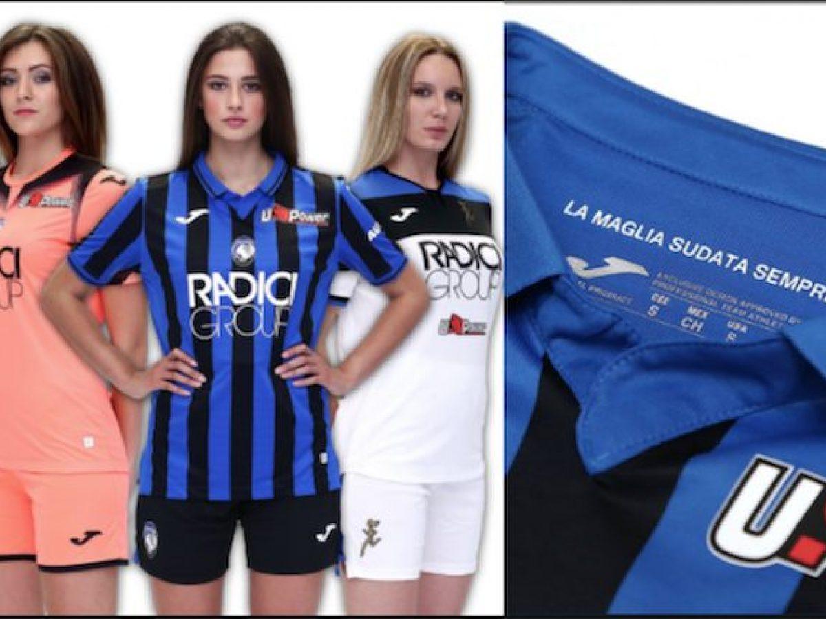 La nuova divisa dell'Atalanta 2019/2020 con la scritta: La maglia ...