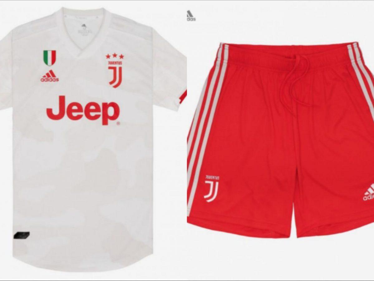 Juventus, ufficiale: la seconda maglia 2019/2020 è bianca e rossa