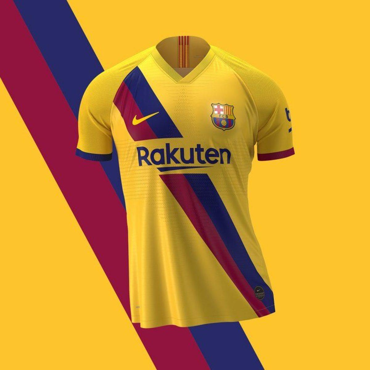 Barcellona, la seconda maglia 2019/2020 sarà gialla in onore dei ...