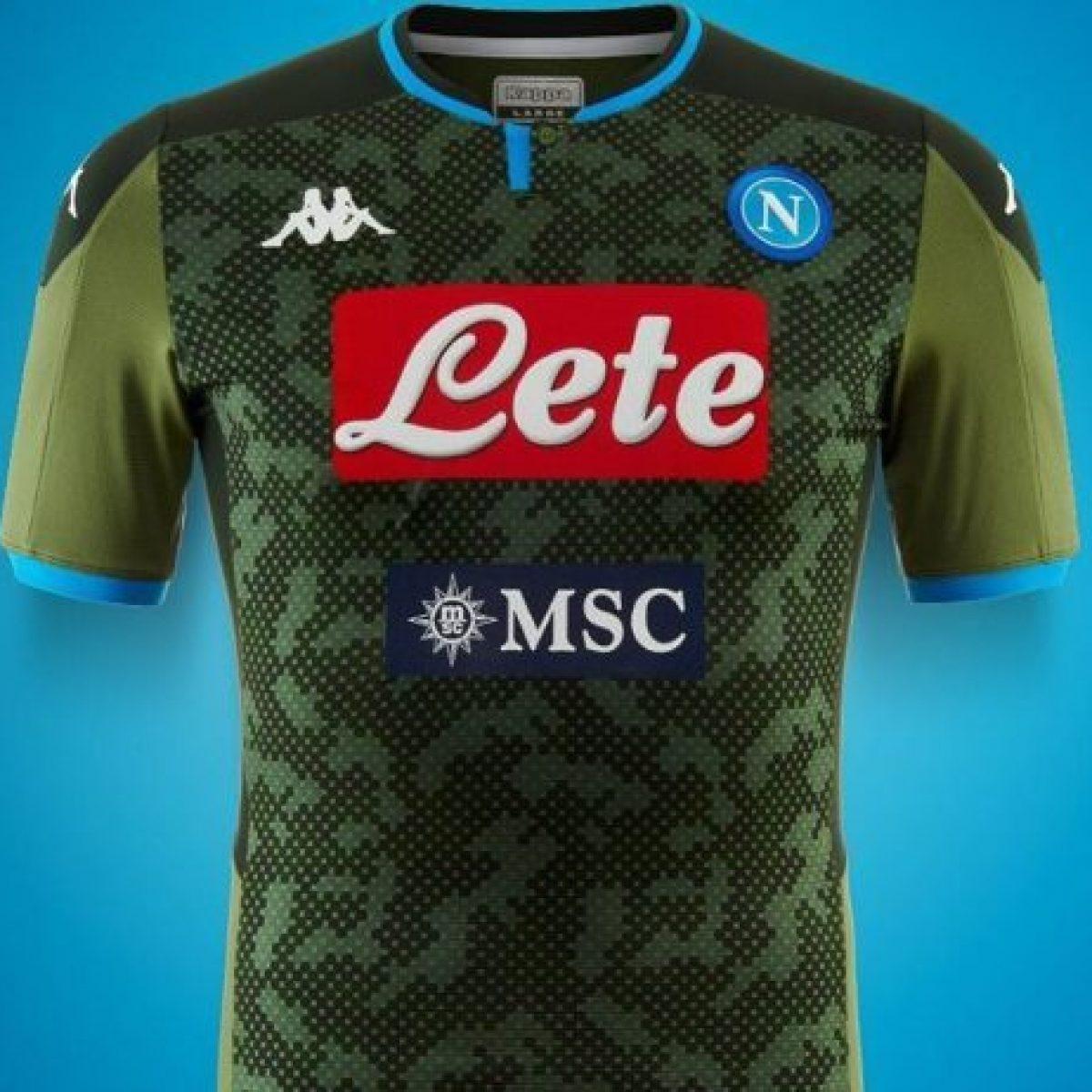 Napoli, svelate la seconda e la terza maglia della stagione 2019-2020